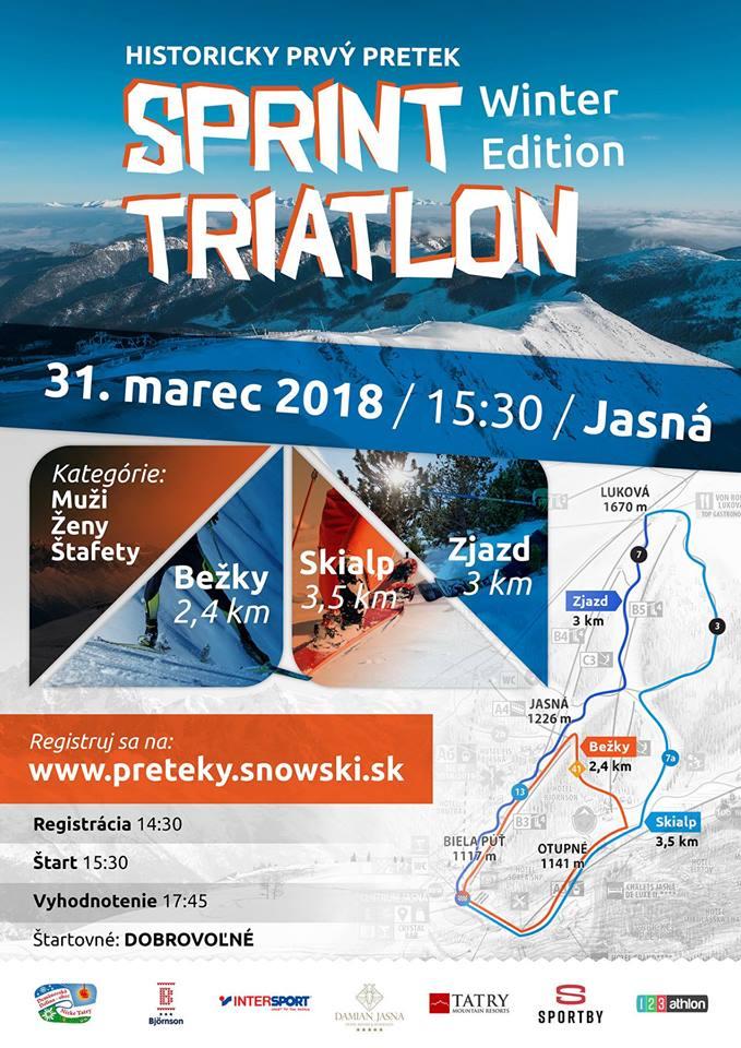 sprint triatlon jasna nizke tatry liptovzije