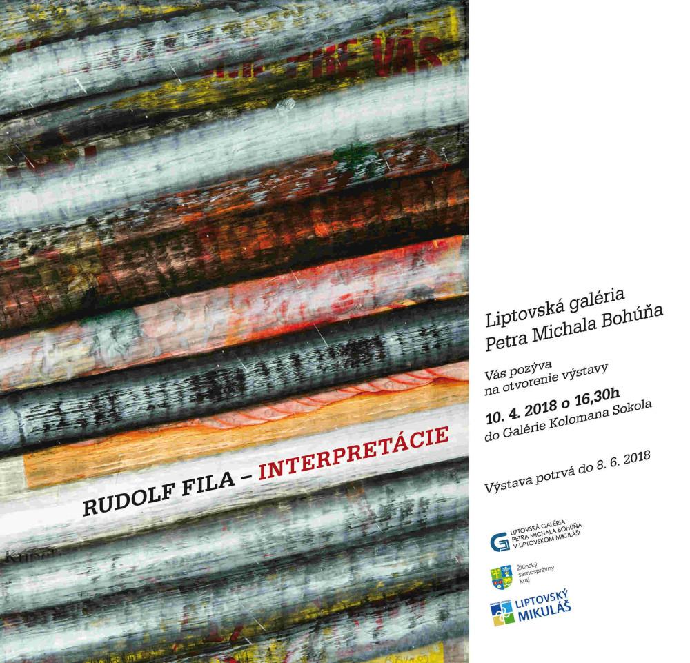 Rudolf Fila LiptovZije vystava