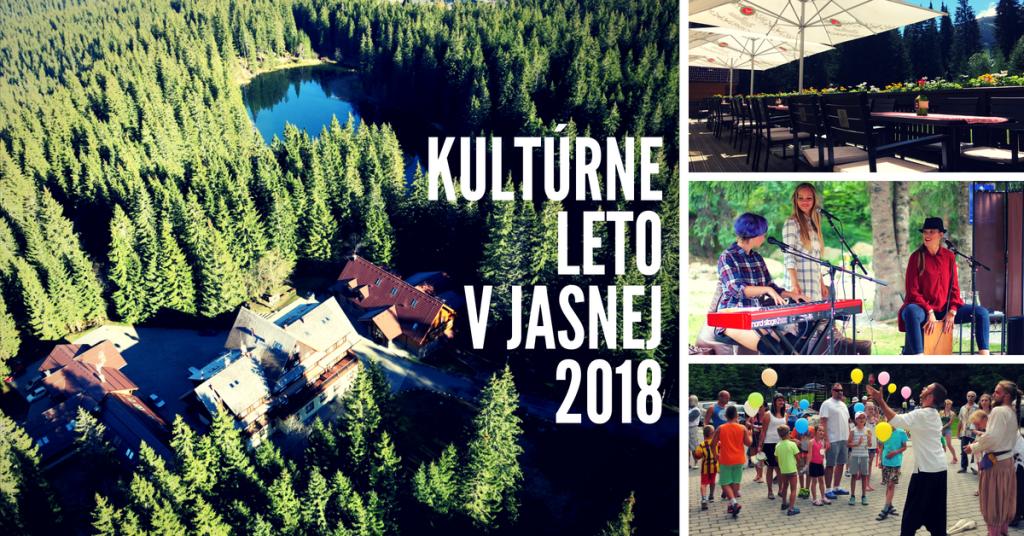 Liptov akcie udalosti lipovzije liptov zije kultúrne leto v Jasnej 2018 Hotel Mikulášska chata coromoro