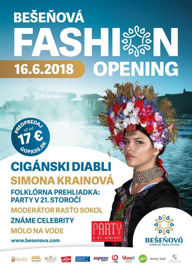 Liptov akcie udalosti lipovzije liptov zije Bešeňová Fashion Opening