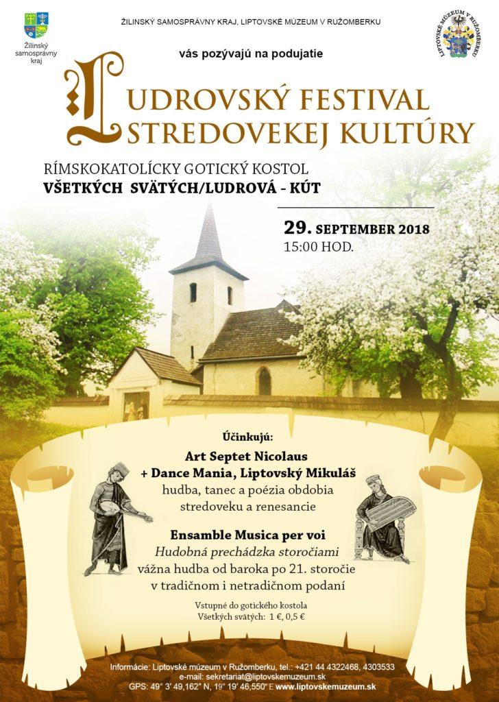 Liptov akcie udalosti lipovzije liptov zije ludrovsky festival stredovekej kultury 2018