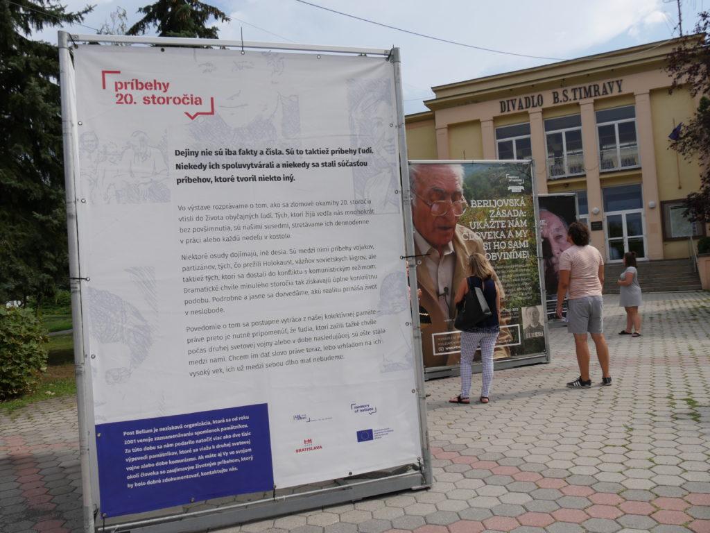 Liptov akcie udalosti lipovzije liptov zije výstava Príbehy 20. storočia v Liptovskom Hrádku