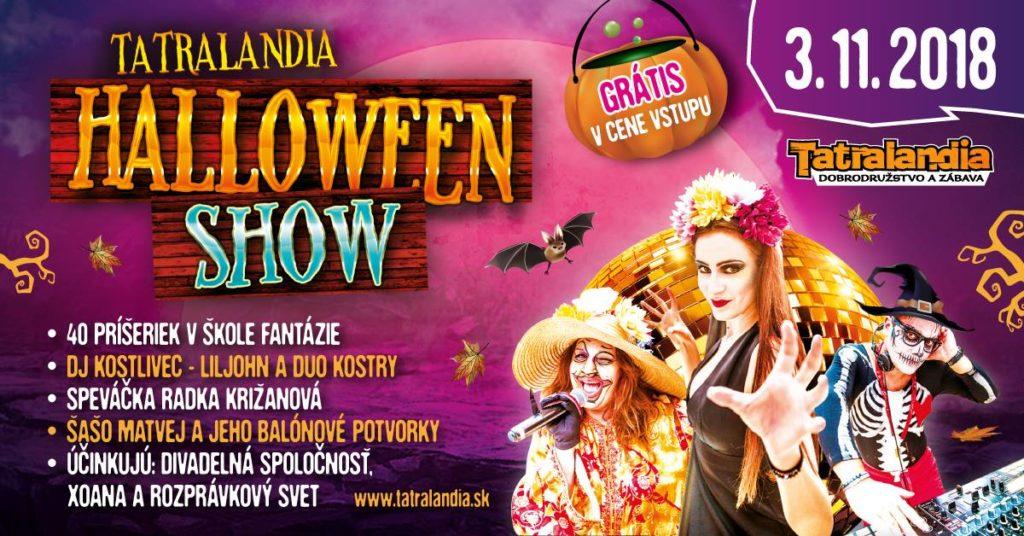 Liptov akcie udalosti lipovzije liptov zije aquapark tatralandia halloween show