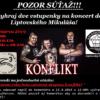 Liptov akcie udalosti lipovzije liptov zije Z3 konflikt Kolotocovo koncert