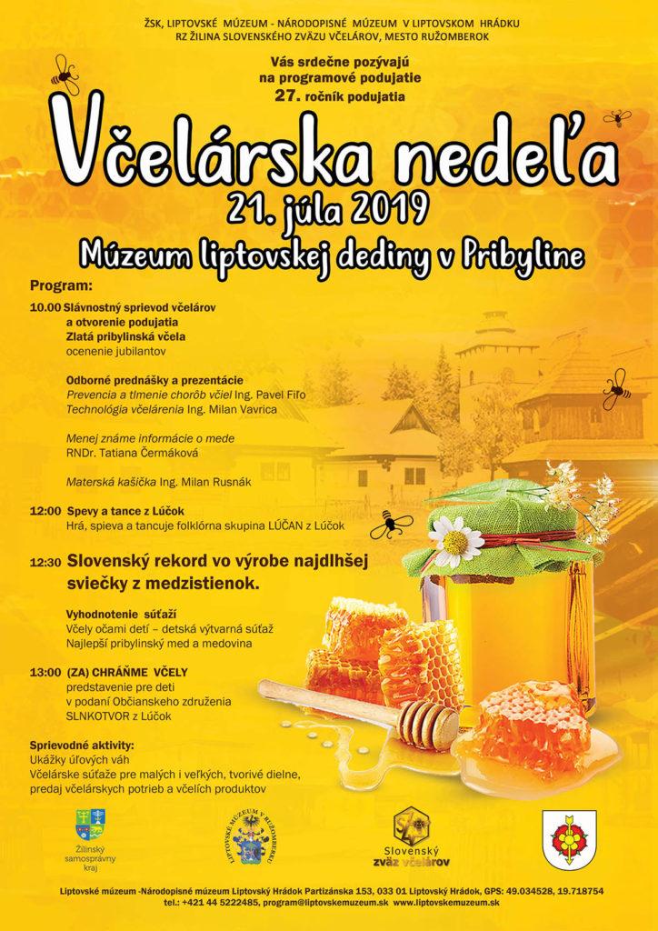 Liptov akcie udalosti lipovzije liptov zije vcelarska nedela muzeum liptovskej dediny Pribylina
